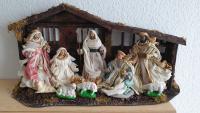 Unser langjähriger Küster in St. Pius, Paul Klinner, schickt uns dieses Foto seiner Familienkrippe.