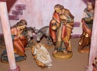 Die Heilige Familie und ein Josef mit Sorgenfalten auf der Stirn...
