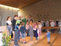 Kinderkirche beim Pfarrfest