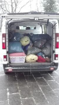 Ein ganzer Kleinbus voller Spenden für obdachlose Menschen - und das nach nur zwei Tagen!